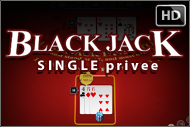 Black Jack Single Privee