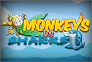 Monkeys Vs Sharks HD